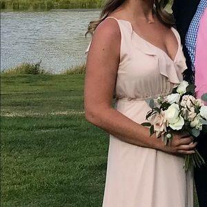 Blush wrap bridesmaid gown! Nordstroms!